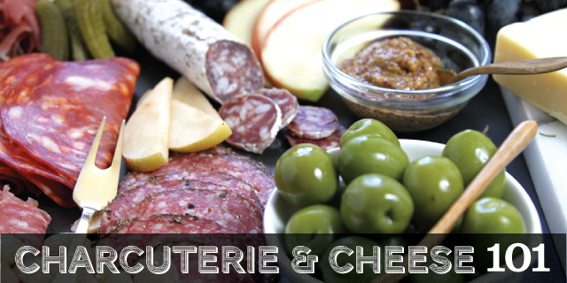 How To Assemble a Cheese & Charcuterie Board